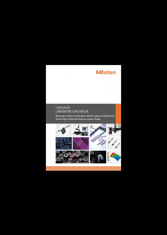 Laboratoire et recherche documentation catalogue Mitutoyo